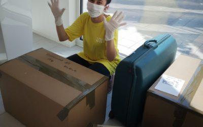 Servizio preparazione pacchi gratuito per chi non può tornare al Campus